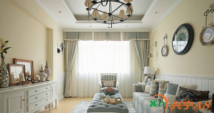 地中海风格装修客厅图片