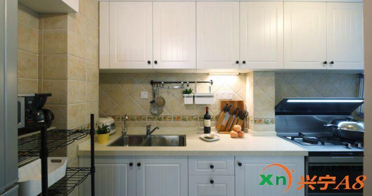 美式风格装修厨房图片