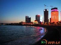 盛夏浮山湾夜景(2014.07.08)