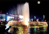 文化广场之中秋月夜