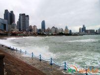 雨后的浮山湾海域(2014.07.06)