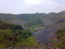 荒凉的矿区