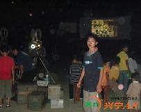 水口大坑当年中秋节的露天电影
